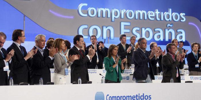 Primera Jornada del Congreso del PP en Valencia.