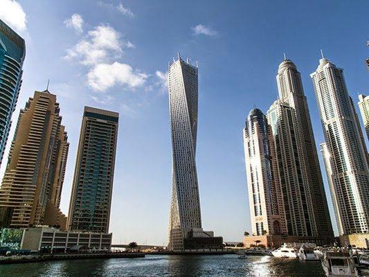 el tener un edificio que se mueve no es solo una fantasa y es que ya se est se trata del rascacielos giratorio que se situar en dubai