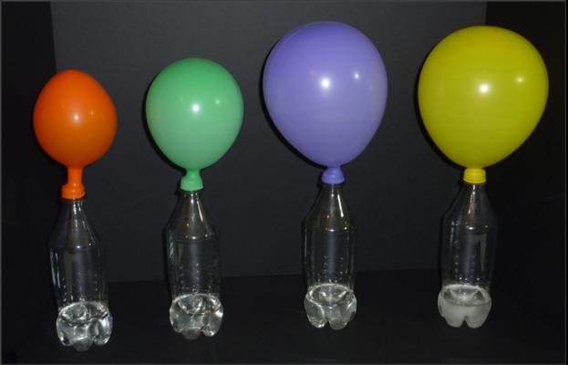 Así se infla un globo para que flote sin helio