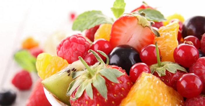 fruta dulce de temporada