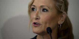 Cristina Cifuentes. dimite como presidenta de la Comunidad de Madrid.