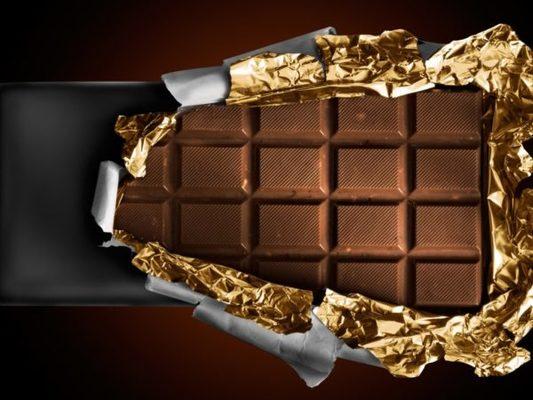 sabrosa tableta de chocolate