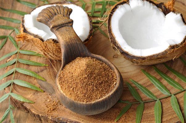 el azucar moreno de coco