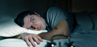 no poder dormir