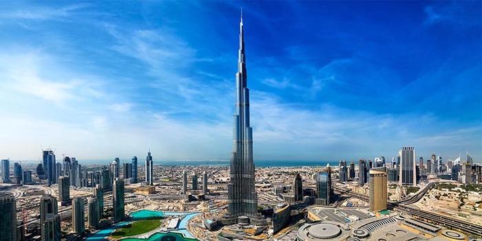 el edificio burj khalifa que se encuentra en dubai en los emiratos rabes es hoy en da el edificio ms alto de todo el mundo tambin conocido como burj