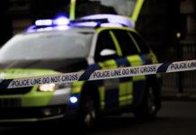 Cordón policial en una crisis