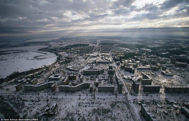 Esto encuentras hoy en Chernobyl