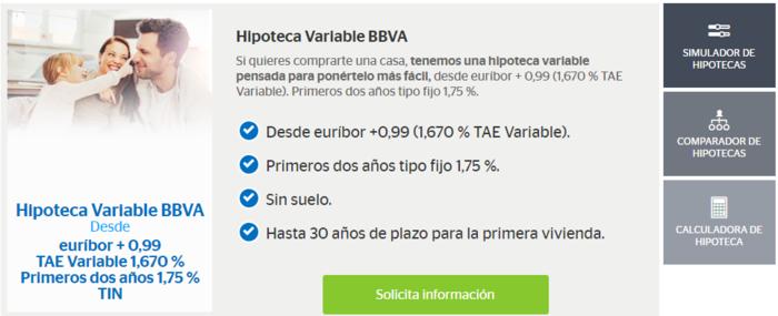 Simulador credito hipotecario bbva 2017 for Hipoteca fija santander