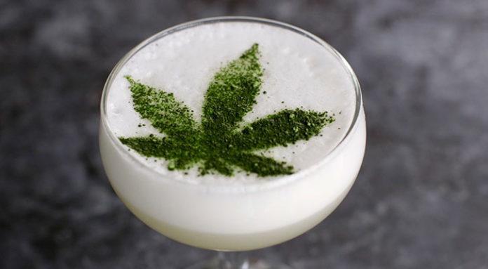 cóctel de marihuana