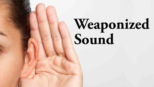 Resultado de imagen para arma sonica militar