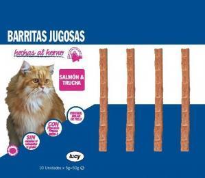 Barritas jugosas para gatos Lucy Mercadona