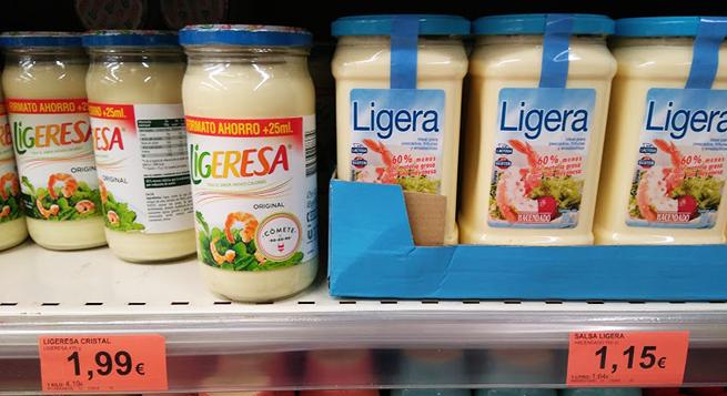 Mercadona copia mayonesa