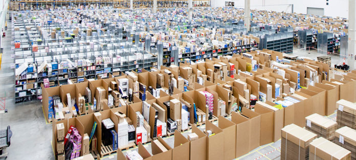 El efecto Amazon estrangula las plataformas logísticas.