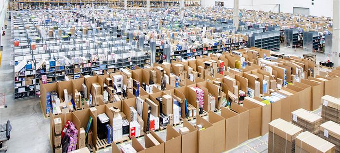 Amazon centro logístico El Corte Inglés
