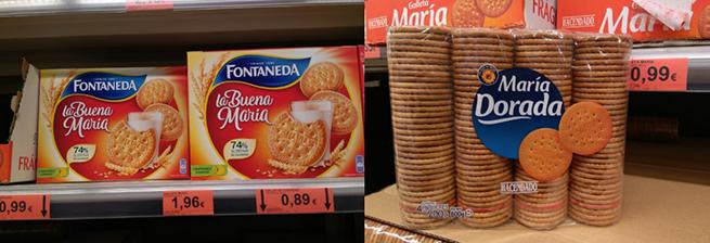 Mercadona galletas