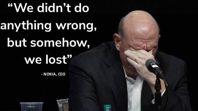 CEO Nokia: ¡Perdimos!