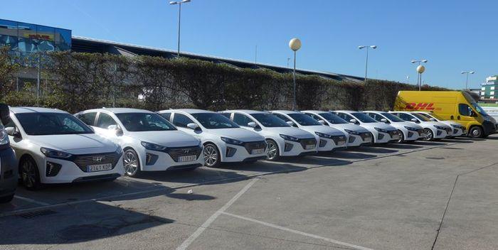 Los vehículos híbridos o eléctricos suponen solo un 1,8% del parque automovilístico español