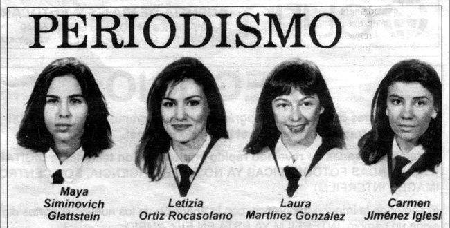 Letizia periodista