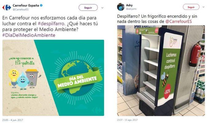 Carrefour medio ambiente