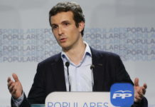 Pablo Casado, candidato a presidir el PP.