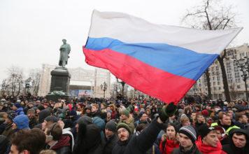 Rusia protestas contra Putin