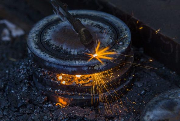 El hierro revoluciona el mercado.