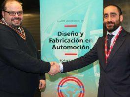 Foto de Presentación Master dúal de Automoción Deusto-AIC