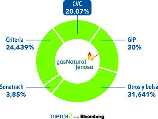 Gas Natural Accionariado