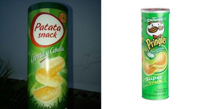 Patatas Mercadona Pringles