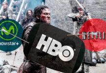 Netflix Movistar + HBO