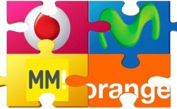 MasMovil, Orange, Vodafone y Movistar