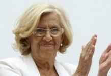 Carmena cumple 1.000 días al frente del consistorio madrileño.