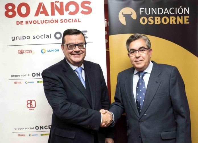 Foto de Fundación Osborne y Fundación ONCE