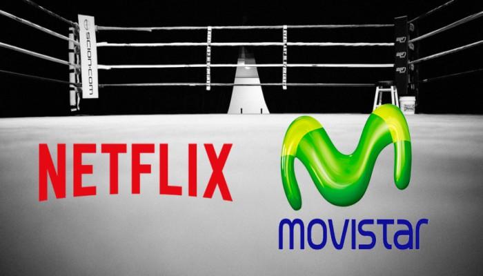 Netflix y Movistar +