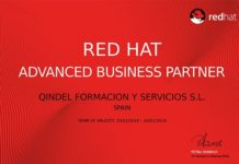 Foto de Certificado Advanced Business Partner Red Hat