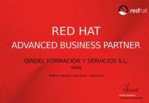 Foto de Certificado Advanced Business Partner Red Hat