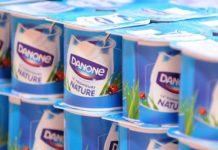 Danone ventas leche