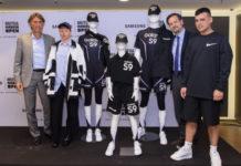 Samsung y el Mutua Madrid Open presentan el uniforme de los recogepelotas