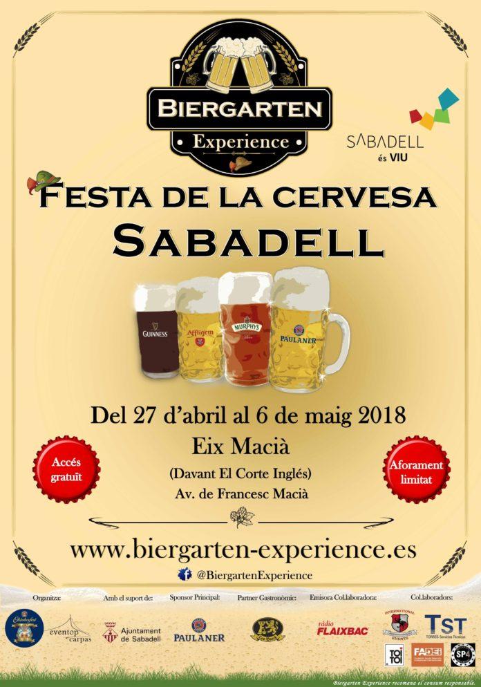 Foto de Biergarten Experience Sabadell 2018