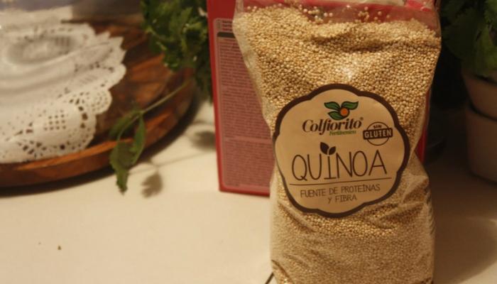 Saco de quinoa