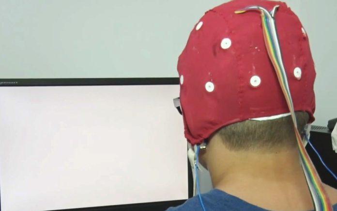 Foto de QEEG o electroencefalograma