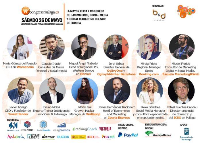 Foto de Programa de conferencias VI eCongress Málaga