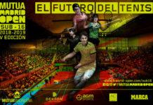 Cartel del VI Torneo Sub-16 del Mutua Madrid Open.