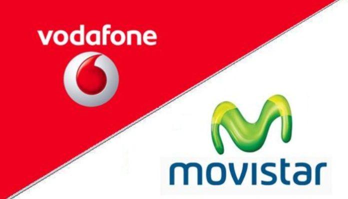 Vodafone, Movistar, Orange