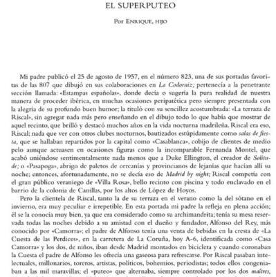 Superputeo Riscal El Corte Inglés