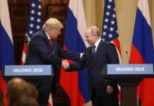 Trump y Putin republicanos