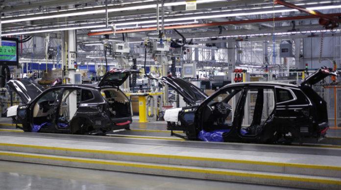 Fábrica de BMW.