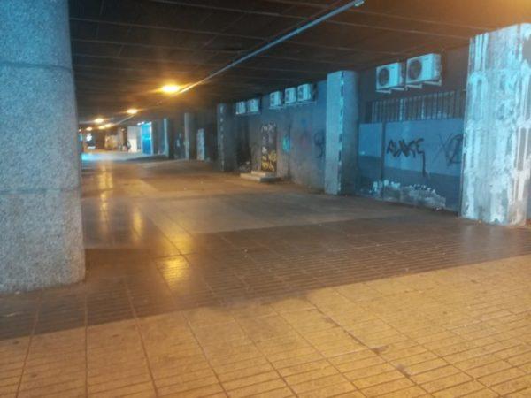 Este es el deplorable estado del Ibez en Azca.