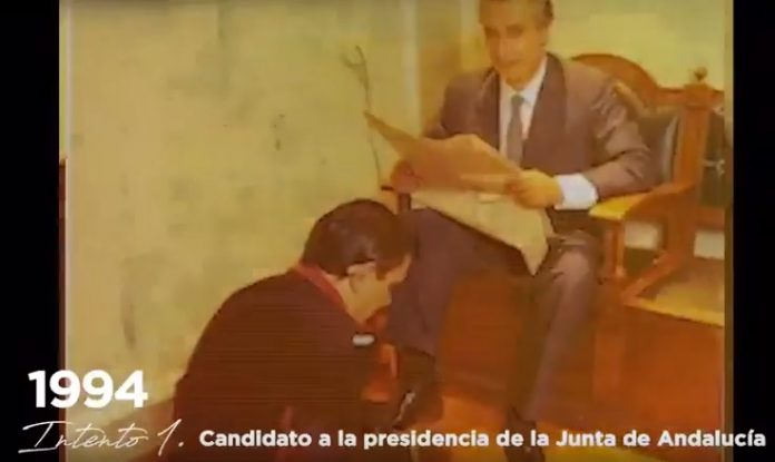 Javier-Arenas y el limpiabotas
