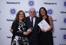 Foto de Entrega del Global Teaching Excellence Award 2018